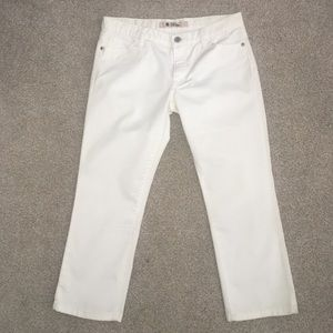 New Gap Jeans Low Rise White Size 8