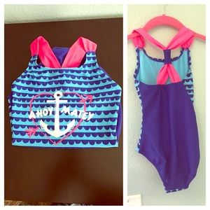 Other - SALE NWT Ahoy Matey Girls Swim Suit