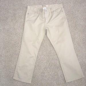 Gap Jeans Low Rise Tan Size 8
