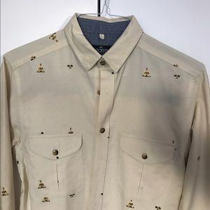10.Deep Other - 10 Deep native american button down shirt