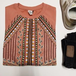Akemi + Kin Beaded Sweatshirt