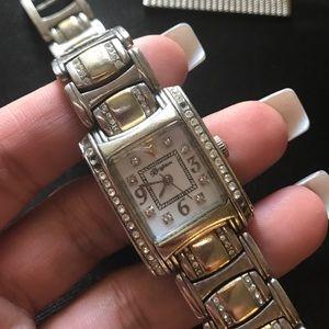 Brighton Accessories - Brighton watch silver and gold tone