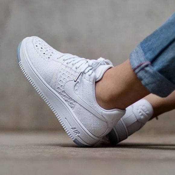 new product e36ed 56f33 Women s Nike Air Force 1 Low Flyknit Low Sneakers