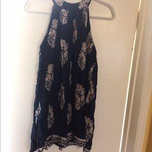 Mini paisley summer dress