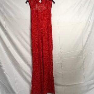 79db7cf0ace Line   Dot Pants - 626🐰💛 Nasty gal Floral obligation lace jumpsuit