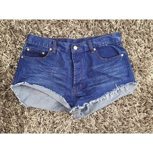 Pants - High-waisted Summer Shorts