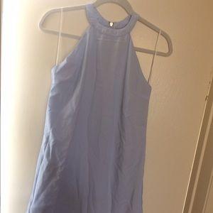 Dresses & Skirts - Light blue mini summer dress