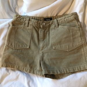 A.P.C. Pants - A.P.C Shorts in 34