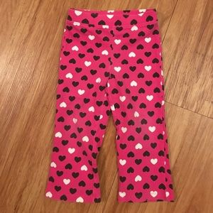 Jumping Jacks Other - Pink heart kids pants 24 months