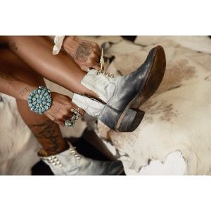 Spell & The Gypsy Collective Shoes - ✨RESERVED✨ Night of Hunters Studded Boots