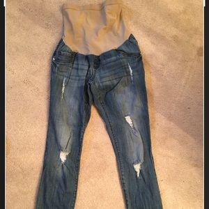 Skinny maternity jeans size Small
