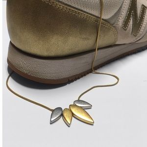 Madewell Leaf Necklace