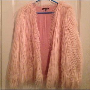 Ladakh Jackets & Blazers - New Ladakh x Urban Outfitters Pink faux fur jacket