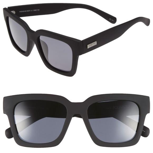 4b9f115bfa NWT LE SPECS Weekend Riot Polarized Sunglasses