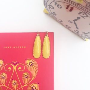 Jewelry - Gold and Yellow Drop Earrings