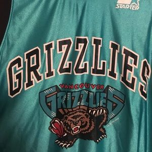 Nike Other - Vancouver Grizzlies Vintage Starter Jersey