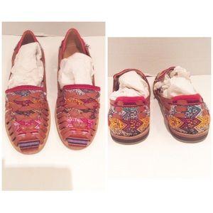 Nisolo Shoes - Nisolo Multi Color Hand Made Huarache Sandal