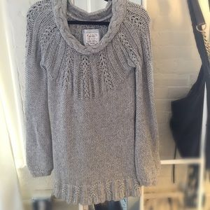 Old navy sweater. M.