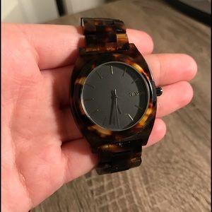 Nixon Jewelry - Nixon Tortoise Shell Women's Watch