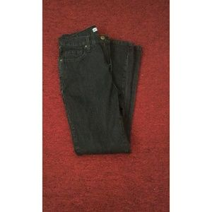 Lee Denim - Lee Dark gray/black straight leg jeans