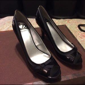 Fergalicious Shoes - Fergalicious Black Patton Shoes / NEW