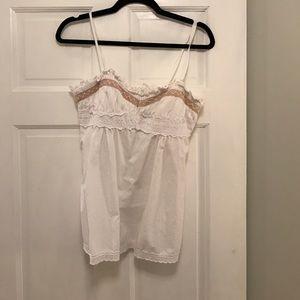 Nanette Lepore Tops - Nanette Lepore size 6 cotton blouse