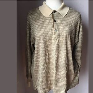 Dunhill Other - Dunhill Men's Beige Polo Shirt Lettering Italy