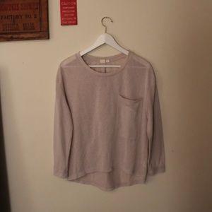 Cloth By RDI Long Pocket High Low Top