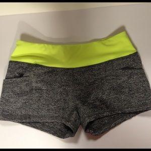 Pants - Booty shorts gray size medium