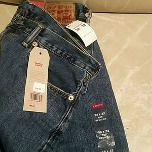 Men's Levis 505 regular straight leg 34/32