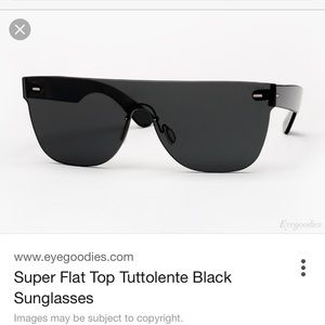 RetroSuperFuture Other - Retro super future tuttolente flat top sunglasses