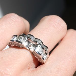 Jewelry - New 14kw wedding/engagement set