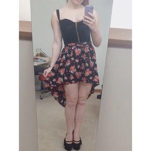 Lucy Love Dresses & Skirts - Rose Hi-Lo Skirt
