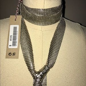 Isabel Marant pour H&M Jewelry - Isabel Marant for H & M silver chain scarf. New!