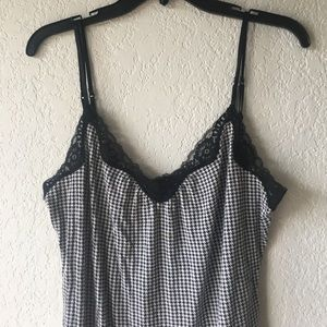 Express Tops - Houndstooth Cami