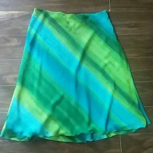 Bandolino Dresses & Skirts - Bandolino Diagonal Striped Skirt
