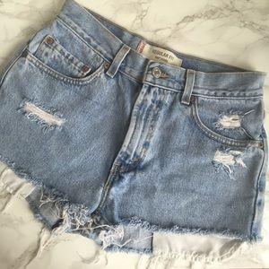 Levi's Pants - Levi's 505 Cut Off Festival Shorts