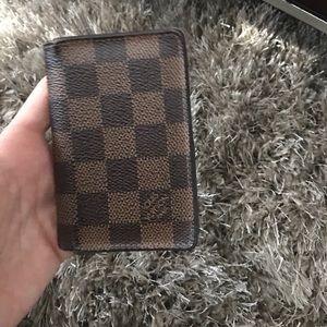Louis Vuitton Other - Louis Vuitton men's card holder/wallet