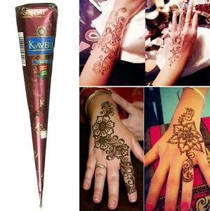 5☆ Rated! Henna Safe All Natural Body Ink • 1 Tube