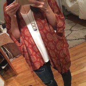 Forever 21 Tops - Pretty Kimono! Perfect condition!