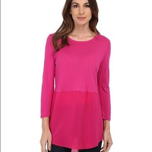 Two by Vince Camuto Tops - Two By Vince Camuto Long Sleeve mixed Media Crew