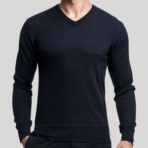 Life After Denim Other - Life After Denim V-Neck Cashmere Sweater