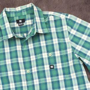 DC Other - Plaid Short Sleeve Shirt