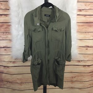 ANGL Tops - ANGL olive green tunic (preloved)