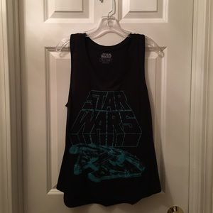 Mighty Fine Tops - Star Wars Millennium Falcon Tank Top