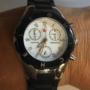 MICHELE Other - NWOT Authentic blK MICHELE unisex Jelly sportwatch