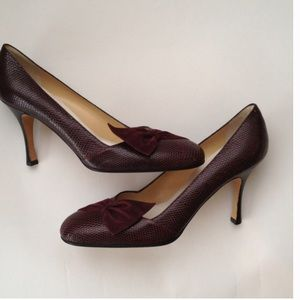 Rickard Shah Suede Round-Toe Pumps latest collections cheap price sale wholesale price under $60 cheap online really for sale Xcy7t
