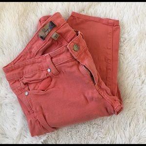 Paige Jeans Pants - Paige peg skinny jeans