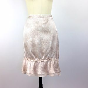 John Varvatos Dresses & Skirts - John Varvatos Silk Ruffled Runway Skirt 42/6