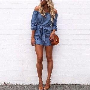 3x1 Dresses & Skirts - 🌟Brand New 🌟 Mini Shorts Romper
